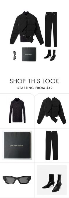 """/"" by darkwood ❤ liked on Polyvore featuring Totême and CHARLES & KEITH"