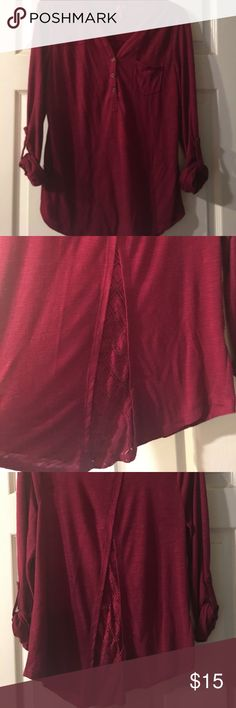 Cute blouse Red Camel blouse. Cute detail on back!!! Red Camel Tops Blouses