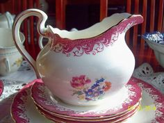 jarra lechera porcelana inglesa aynsley