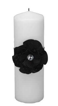 Hortense B Hewitt Wedding Accessories Floral Fantasy Unity Candle Black *** Continue to the product at the image link. (Note:Amazon affiliate link)
