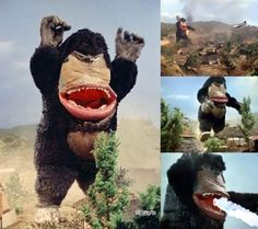 Spacemonster Pakki from Fight! Mighty Jack (1968)