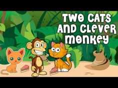 A Story for Preschool Kids about Two cats and a clever monkey Fiction Stories For Kids, Moral Stories For Kids, English Story, Baby Music, Bedtime Stories, Morals, Nonfiction, Monkey, Clever
