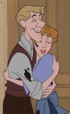 101 Dalmatians - Roger and Anita. <3