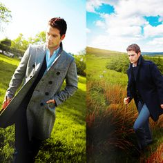 Oh, just Henry Cavill strolling through the English countryside.