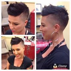#hair #beauty #chickfade