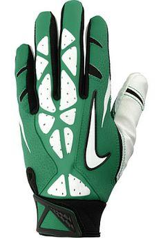 NIKE Adult Vapor Jet Football Gloves i want these Baseball Gear, Baseball Socks, Football Gear, Baseball Equipment, Football Gloves, Sports Equipment, Baseball Field, Golf Gadgets, Nike Gloves