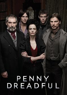 Penny Dreadful on Showtime Great Psychological Paranormal Thriller Penny Dreadful Movie, Eva Green Penny Dreadful, Harry Treadaway, Josh Hartnett Penny Dreadful, Dark And Twisty, Victorian London, Drama, Classic Tv, Series Movies