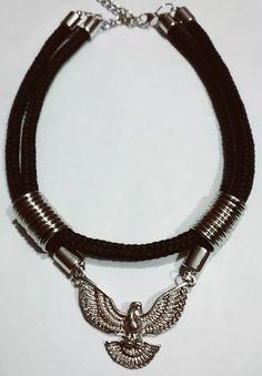 collar choker moda cordon negro ancho dijes a eleccion