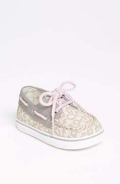 Sperry Top-Sider® 'Bahama' Crib Shoe (Baby) available at #Nordstrom