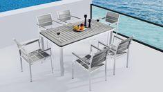 Τραπεζαρία Polywood 7τμχ Sunday Outdoor Furniture Sets, Outdoor Decor, Balcony, House, Tips, Home Decor, Decoration Home, Home, Room Decor