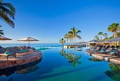 Take us away. Sheraton Hacienda del Mar Golf & Spa Resort, Los Cabos - Cascading Infinity Pool