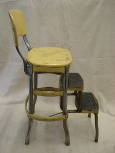 1000 Images About Refinishing Metal Chairs On Pinterest Step Stools Metal Chairs And Metal