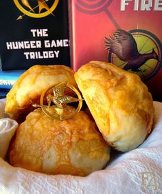 Cheese Buns from Catching Fire (& Biscuits too) | via Food Adventures (in fiction!)