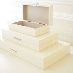 Luxe Organizer Boxes - Barbara Barry | Tonic Home