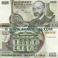 austrian money   this picture is for reference only it may not be