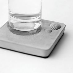 Water Absorbent Coaster - I could use this on my desk. $12