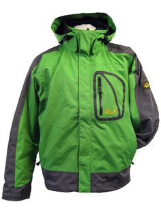 Jack Wolfskin Spectrum 3 in 1 Jacket We think this is the best value 3 in 1 in the shop,waterproof shell,removable fleece-looks great will protect you all year round- 3 colours available looks great