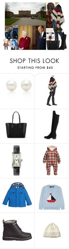 """Leaving for Cliveden Mansion in the morning after breakfast"" by marywindsor ❤ liked on Polyvore featuring Tiffany & Co., Mulberry, Thomas Lyte, Dune, Catimini, Burberry, UGG Australia and ripcarriefisher"