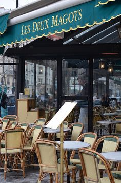 Les Deux Magots ♠ | Flickr - Photo Sharing!