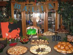 Brave Party Decor - use any extra Brave characters to decorate the food table.  Use old fashioned platters to serve on