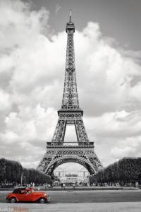 Kup teraz na allegro.pl za 19,00 zł - Paryż Wieża Eiffla - Samochód - plakat 61x91,5 cm (5356624489). Allegro.pl - Radość zakupów i bezpieczeństwo dzięki Programowi Ochrony Kupujących!