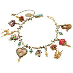 3f087fec2df Michal Negrin - ブレスレット VICTORIAN CHARMS BRACELET 予約注文  - KACHOL LAVAN  (カホルラヴァン) MADE IN ISRAEL