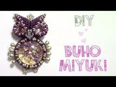 DIY BUHO MIYUKI 1/4 (Los ojos) ♥ Qué cositas - YouTube