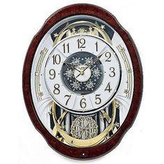 Woodgrain Marvelous Rhythm Magic Motion Musical Clock >>> Visit the image link more details.