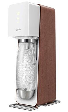 soda stream source w/wood veneer