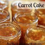 How To Make Carrot Cake Jam Recipe