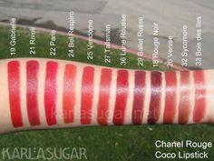 Chanel coco lipsticks
