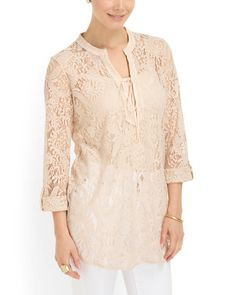 Decker Lace Tunic
