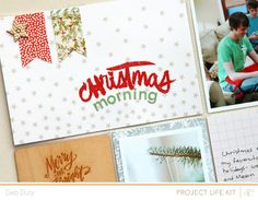 Project Life Christmas Morning by debduty at @Studio_Calico