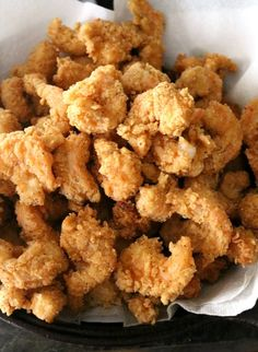 Shrimp Recipes 76606 Breaded and fried until golden brown and delicious, these Southern Fried Shrimp are tender and juicy with an incredibly crispy crust. Deep Fried Shrimp, Fried Shrimp Recipes, Breaded Shrimp, Shrimp Dishes, Fried Fish, Seafood Recipes, Cooking Recipes, Grilled Shrimp, How To Fry Shrimp