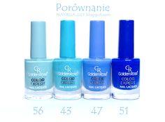 natalia-lily: Beauty Blog: GOLDEN ROSE COLOR EXPERT NR 56 | Błękit...