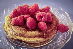 """""""Detto Fatto"""": la ricetta dei pancakes integrali con i lamponi di Paola Galloni del 4 novembre 2013."""