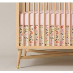 Pretty AND safe.  Heed warnings from Canadian Pediatric Society and Canadian Foundation for the Study of Infant Deaths - avoid bumper padding.  But jazz up the crib with a cute bedskirt!