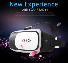 8fe40ce24b52 VR Box 3D Virtual Reality Glasses for Smartphone (White Black) Lazada  Philippines Online