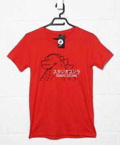 Studio Gojira T-Shirt - Mens / Red / Medium