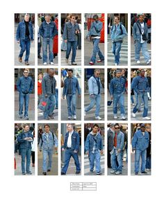 "April 15, 2005. Amsterdam, 12:10 p.m.-1:10 p.m. | People Wearing Similar ""Normcore"" Outfits On The Same Day"