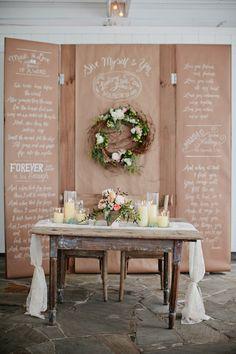 Sweetheart Table | Photography by Kristyn Hogan / kristynhogan.com, Event Design, Floral Design  Planning by Cedarwood Weddings / cedarwoodweddings.com