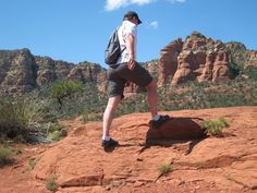 Getting a feel for the red rocks of Sedona. Grand Canyon, Rocks, Lifestyle, Nature, Red, Travel, Naturaleza, Viajes, Trips