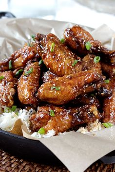 Your favorite sweet and spicy, ginger, caramel General Tso's sauce ...