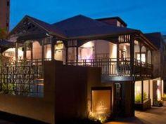 Queenslander verandah - our High Tea spot