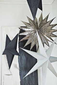 paper stars...