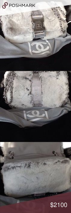 Chanel rabbit fur bag Chanel rabbit fur bag CHANEL Bags