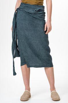 2e82d303129a HUMANOID SALL льняные юбки gt  SHOPHUMANOID Humanoid Clothing