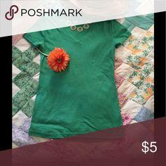 Top Soft green tee Tops Tees - Short Sleeve