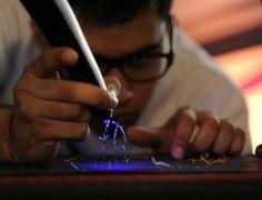สร้างสรรค์งานศิลป์ 3 มิติ ด้วยปากกาสุดแนว! สักด้ามไหมครับ Incense