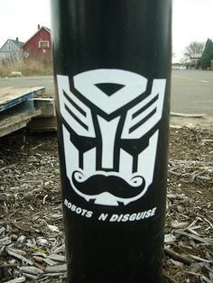 That is awesome lol, classiest transformer ever!